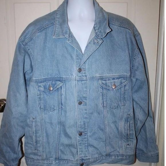 98ce0f7190 Vintage 80 s Pepsi Denim Jacket Oversized Unisex. M 5b26618af63eeac064923f96